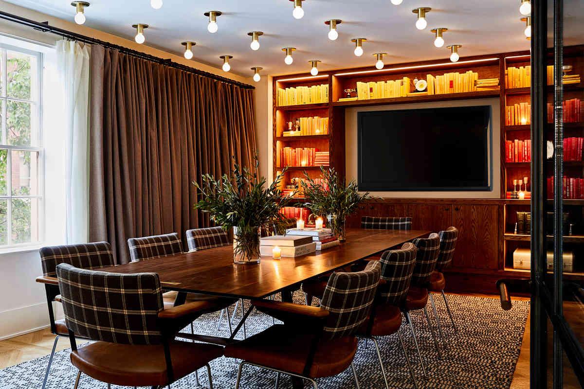 Hotel Revival Meeting Space