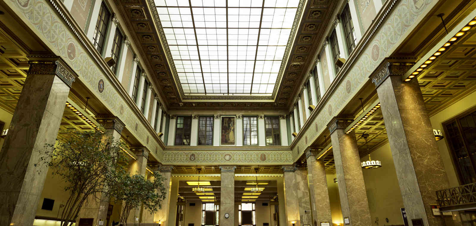 Peabody Library in Baltimore