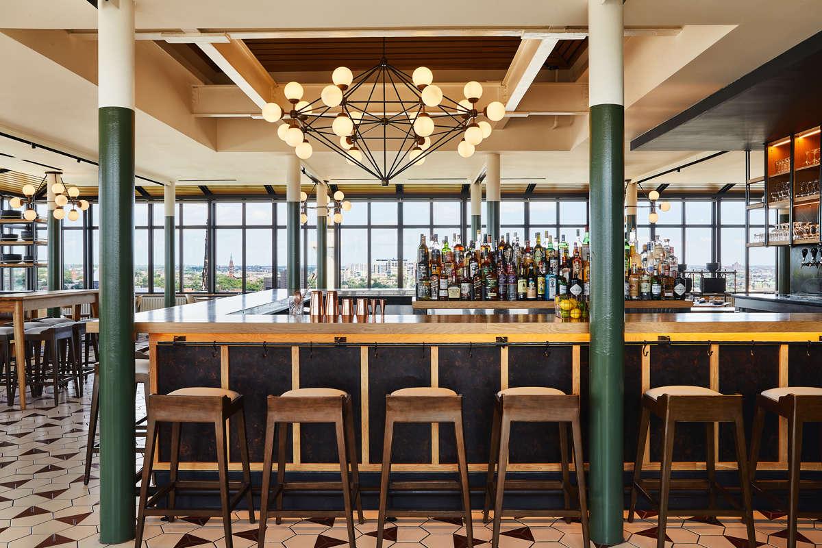 Topside Restaurant Rooftop View