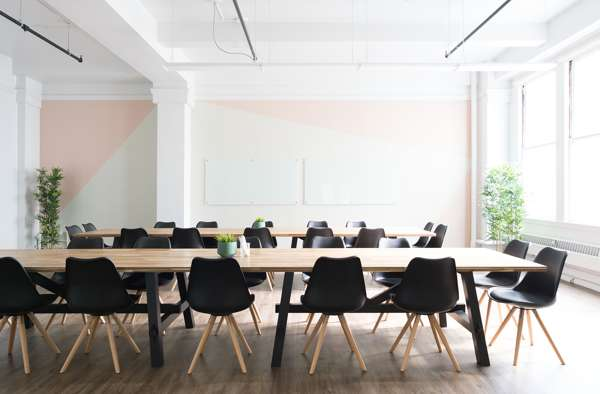 Meeting Room With Two Tables