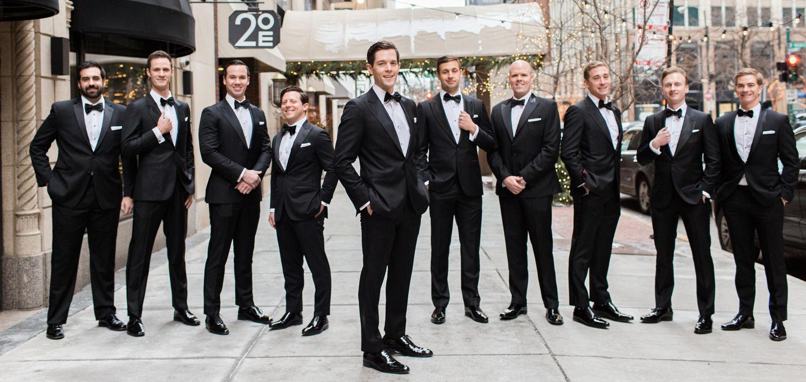Talbott Hotel_Weddings_Grooms Party_Hi Res