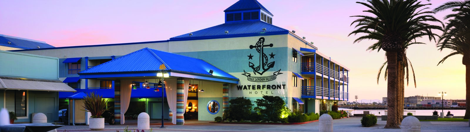 Waterfront Exterior Dusk