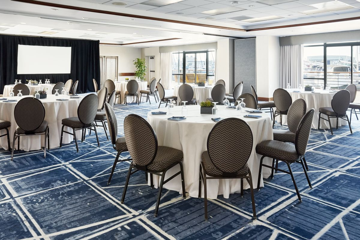 Waterfront Events Spinnikar Room Reception